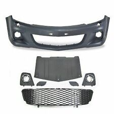 VAUXHALL ASTRA H MK5 VXR OPEL OPC FRONT BUMPER inc GRILLES ABS PLASTIC NEW!!!!!
