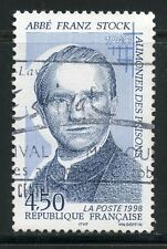 STAMP / TIMBRE FRANCE OBLITERE N° 3138 ABBE FRANZ STOCK