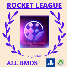 Rocket League Black Market Decals PSN / Xbox one / PS4