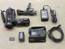 Sony HDR-CX7 HD Handycam Camcorder Outfit Nice