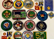 Boy Scout Badges Set Of 18 Vintage