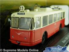 VETRA VBRH MODEL COACH TROLLEY BUS 1:76 SCALE ATLAS 7163141 1948 TROLLEYBUS K8