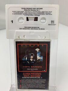 Elvira Presents Vinyl Macabre Oldies But Ghoulies Vol 1 (Cassette)