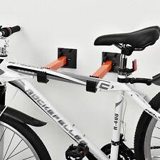 [in.tec]® Soporte para bicicletas de pared montaje en pared ganchos bicicleta