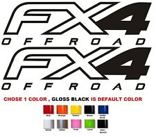 (#550) F-150  FX4 Off Road Decals Ford bedside truck 2012 2013 2014 STICKER