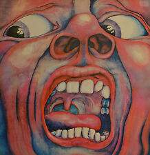 "the Court of the Crimson King - King Crimson LP 12 "" (S369)"