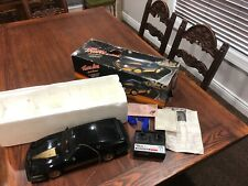 Nikko black and gold trans am firebird RC car with headlights made in Japan