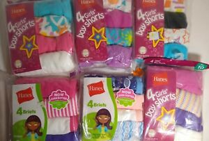 4 Cotton Girls Underwear Panties Choice Size & Style Random Color selection