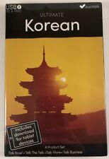 Ultimate Korean - Learn Korean - USB PC/Mac - New & Sealed - Language Course