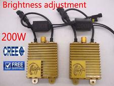 200W HID Xenon Ballast Lamp Bulb Headlight Light Kit H1 H7 H3 H11 Adjust Bright