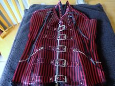 STEAMPUNK CORSET/ GOTH LOOK/SIZE SMALL/NEW
