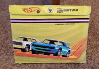 Vintage 1967 Original Hot Wheels Redline 24 Car Collector's Case