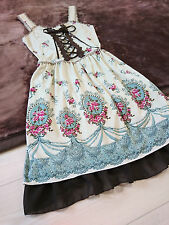 Rose cameo&Chandelier dress Summer lolita Lace-up axes femme Japan-M Hime Gothic