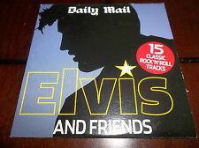 Elvis Presley And Friends CD EX UK Mail Promo 2005 Carl Perkins Bill Haley etc