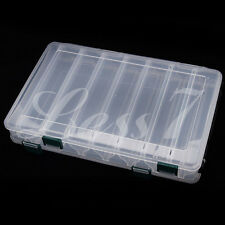 14 Compartment Double Sided fishing Lures Storage Box,Fishing Tackle