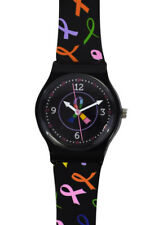 Nurse - Medical Multi Cancer Awareness Ribbon Jelly Watch