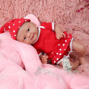 "14"" 1800g Washable Soft Silicone Rebirth Baby Doll Girl Toddler Accompany IVITA"
