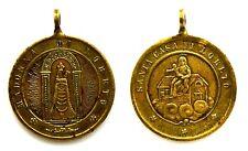 Medaglia Devozionale Santa Casa Di Loreto Madonna Di Loreto Bronzo