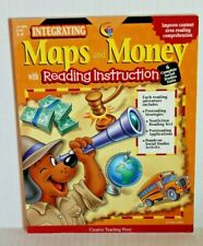 Integrating Maps and Money with Reading Instruction - Grades 3-4 Ctp Book