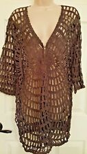 Travelers Collection by Chico's Open Work Cardian size 2