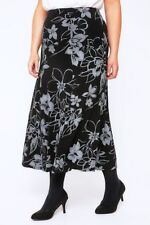 Unbranded Floral Plus Size Skirts for Women