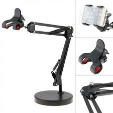 Cell Phone Holder with Suspension Boom Scissor Long Arm Mount Stand Broadcast