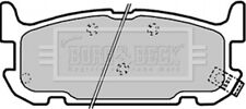 Borg & Beck Disc Brake Pad Set Pads BBP1936 - GENUINE - 5 YEAR WARRANTY