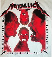 Metallica Minneapolis Square Stare Men's XL T-Shirt - New - 2016 Tour