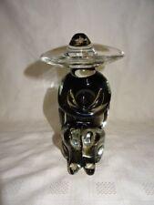 "1970's Hand Made Murano Glass 7.5"" Mexican Figure In Sombrero"