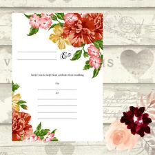 DIY Wedding Invitations Write Your Own Invites Day Night RSVP 4