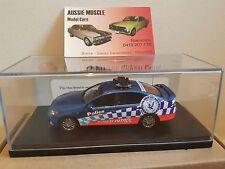 1:43 Trax FG Falcon XR6 N.S.W Highway Police Car Blue