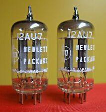 1959 NOS NEC/Mullard 12AU7 PLATINUM PLUS GRADE D Getter Tubes Matched Pair ECC82
