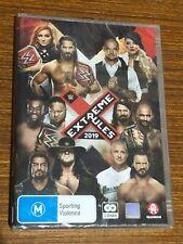 WWE - Extreme Rules 2019 (DVD, 2019, 2-Disc Set) Brand New Sealed Region 4