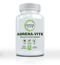 Adrenal Support Dietary Supplement. Energy and Stress Support-90 Vegetarian Caps
