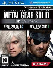 Metal Gear Solid HD Collection Sony PlayStation Vita PS *Game Cartridge Only*