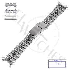 Genuine SEIKO 44G1JZ 22mm SS Jubilee Band + Pins | SKX007 SKX009 Watch Strap