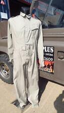 "RAF ARMY STONE COVERALL OVERALLS flight suit FR FLAME RETART 40-42"" GOODWOOD"