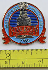 1989 Stanley Cup Championship NHL Hockey Collectible Pin Calgary Flames
