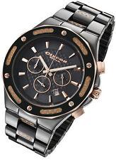 Rougois Cirros Milan Barbero Black Ceramic Carbon Fiber Chronograph Men's Watch