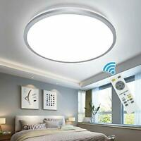 35W Wall Mount Ceiling Light 3 Color Changeable Dimmable Remote Control Bedroom