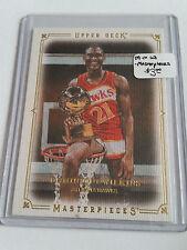 2009-10 Upper Deck Masterpieces #MAWI Dominique Wilkins : Atlanta Hawks