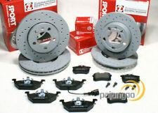 Seat Leon 1M1 - Zimmermann Sport Bremsscheiben gelocht Klötze Kabel vorn hinten*