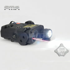 FMA Laser Sight PEQ15-LA5 LED Flashlight White + Red Laser With IR Lens BK