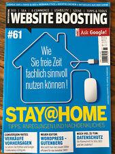 Website Boosting # 61 / 05-06 2020 SEO SEA Usability
