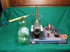 Motor de vapor modelo de compresor de aire se ajusta de 5 6 mm De Hilo Wilesco/Mamod + Humo