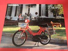 1982 Honda PA50 II Moped Sales Brochure - Literature