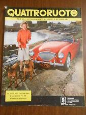 QUATTRORUOTE n.9 OTTOBRE 1956 - ORIGINALE