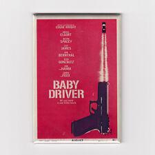 "BABY DRIVER / TEASER - 2"" X 3"" POSTER MAGNET (edgar wright soundtrack print lp)"