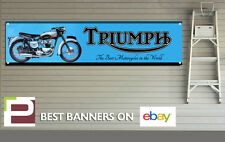 1959 Triumph Bonneville Banner for Workshop, Garage, Man Cave, 1300mm x 325mm