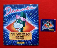 """DENVER""  ALBUM FIGURINE PANINI VUOTO + BUSTINA"
